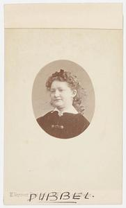 Portret van Christine Smit