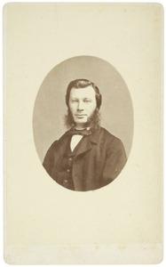 Portret van Gerardus Josephus van Dieren Bijvoet (1829-1903)