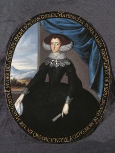 Portret van Maria Afan de Ribera, hertogin van Montalto (?-1639)