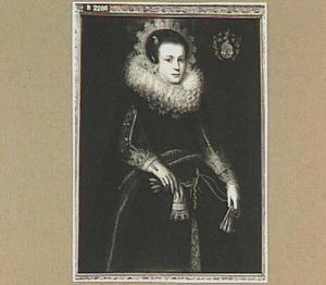Portret van Matijntje van Citters (1609-1629)