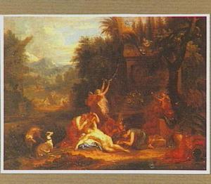 Bacchus kroont Ariadne met een sterrenkroon