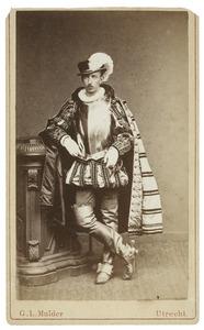 Portret van Unico Hendrik Strick van Linschoten (1859-1899) als Heer van Heze