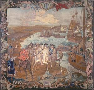 De landing op Rügen