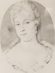 Portret van Maria Eva Backer (1674- 1732)