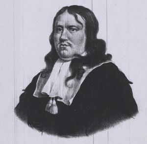 Portret van Stephanus Marchant (1632-1670)