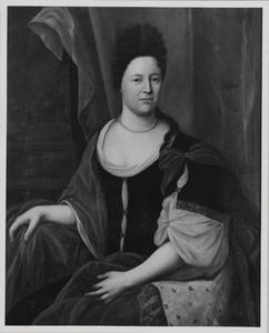 Portret van Geertruyd van Rijsenburch (?-1713)