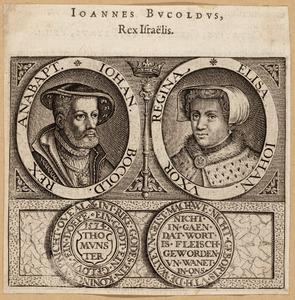 Portretten van Jan Beukelsz. (1509-1536) en Elise Wandscherer (?-1535)