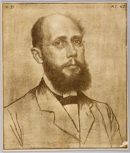 Portret van Mr. S. Muller Fz.