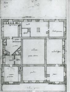 Villa Grimaldi 'Fortezza': Kelderplan