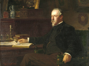 Portret van Daniel Franken (1838-1898)