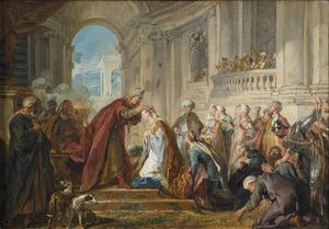 De kroning van Ester