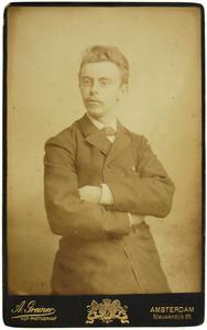 Portret van Cornelis Bakker (1863-1933)