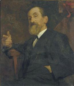 Portret van Frans Lebret (1820-1909)