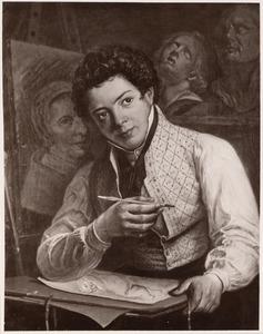 Portret van G. Valette de Knoop