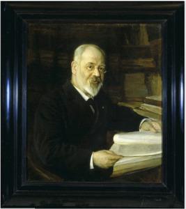 Portret van C.M. (Cornelis Marius) Kan  (1837-1919)
