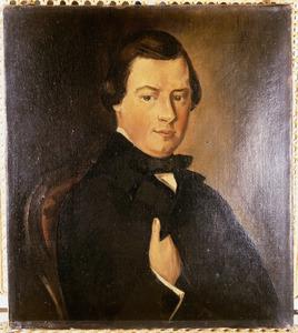 Portret van Alexander Constantinus A. Feber (1829-1885)