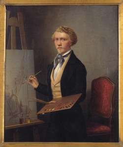 Portret van Antoine Francois Heijligers (1828-1897)