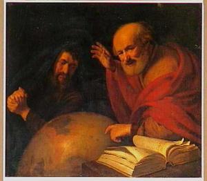 Heraclitus en Democritus