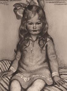 Portret van Marieke Alida Jacqueline Deurvorst (1927- )