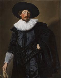Portret van een man, waarschijnijk Michiel de Wael (1596-1659)