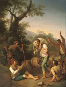 De gelijkenis  van het verloren schaap (Matteüs 18:12-14; Lucas 15:4-7)