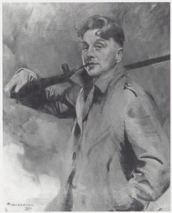 Zelfportret van Piet van der Hem (1885-1961)