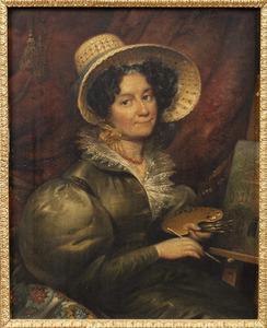Portret van Louise Johanna van Kretschmar (1787-1860)