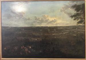 De slag bij Villaviciosa op 10 december 1710