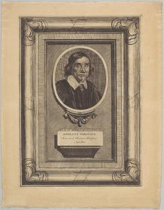 Portret van Adolphus Vorstius (1597-1663)