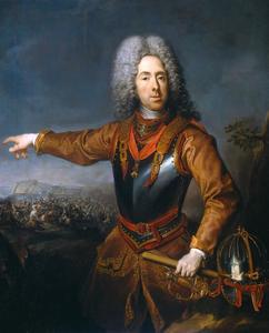 Portret van Prinz Eugen von Savoyen (1663-1736)