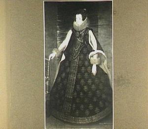Portret van Elisabeth van Bourbon