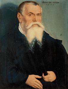 (Zelf?) portret van Lucas Cranach I (1472-1553)