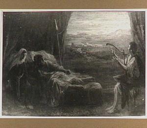 Wanneer  David op zijn citer speelt, verdrijft hij de kwade geest die Saul overmand heeft (1 Samuel 16:23)