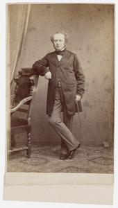 Portret van Henderik Weymans (1804-1873)