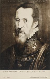 Portret van Ferdinand Alvarez de Toledo, hertog van Alba (1507-1582)