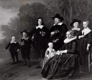 Portret van de familie Rutger van Weert en Maria Beels