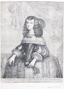 Portret van Catherina van Braganza (1638-1705)