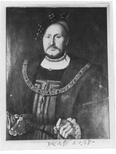 Portret van George Schenck van Toutenburg