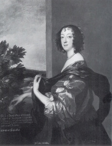 Portret van Elizabeth Clifford, Lady Boyle, Viscountess Dungarvan, 2nd Baroness Clifford, later Lady Burlington (1613-1691)