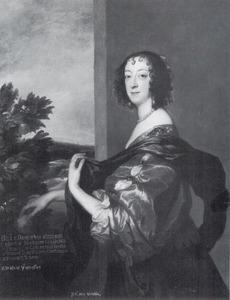Portret van Elizabeth Clifford, Lady Boyle, Viscountess Dungarvan, 2nd Baroness Clifford, later Lady Burlington (1613-1691)
