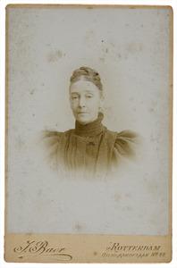 Portret van Adriana Catharina Gleichman (1836-1921)