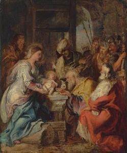 De aanbidding van de koningen (Matteus 2: 1-12)