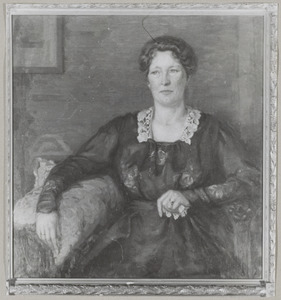 Portret van Jeanne Charlotte Hasselman (1873-1957)