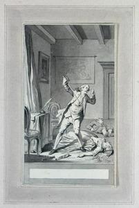 Illustratie bij 'De trouwdag' uit de Fabelen en vertelsels van F.C. Gellert
