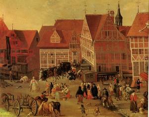 De Messberg in Hamburg
