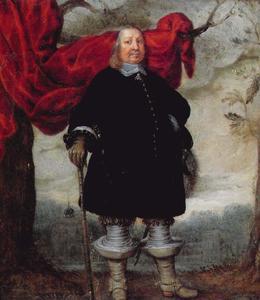 Portret van Hertog Friedrich III von Schleswig-Holstein-Gottorf (1597-1659)