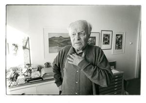Portret van Gerd Arntz
