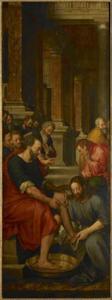 De voetwassing (Johannes 13: 1-20)