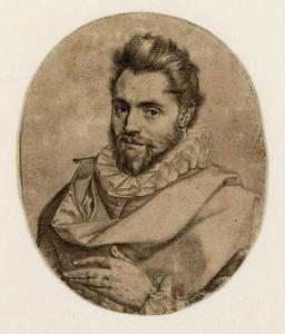 Portret van een man, mogelijk Jacques Razett (?-1608)