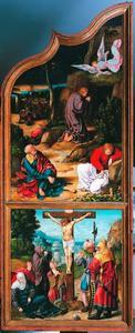 Christus in Getsemane, De Kruisiging